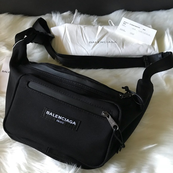 best sale 2020 discount collection Balenciaga Waist Bag Fanny Pack Black